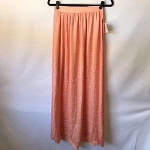 Relativity coral orange maxi with pockets